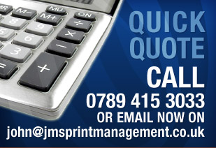 Quick Quote Call 07894 153033 Or email now